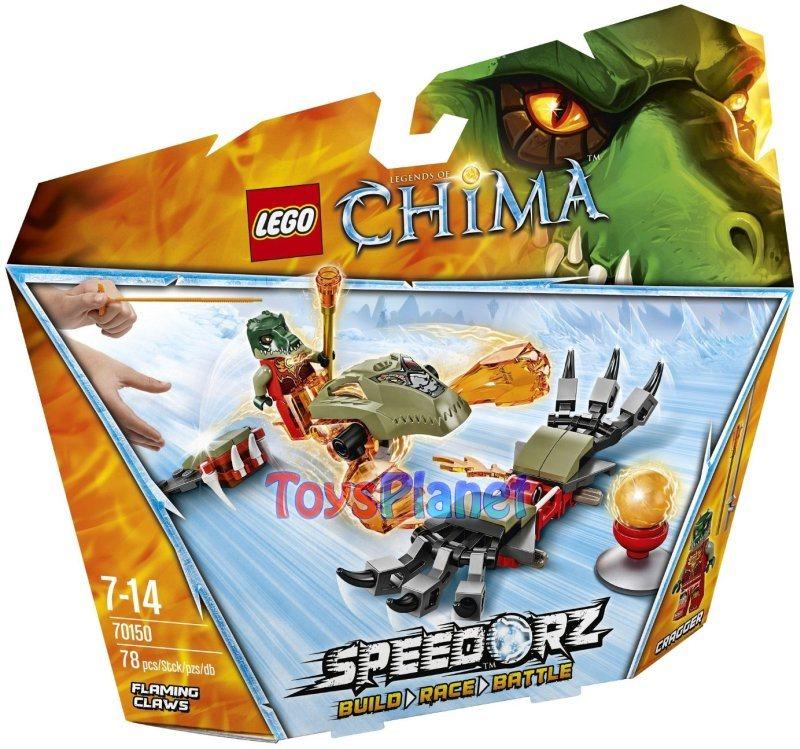 LEGO CHIMA Klocki PŁONĄCE PAZURY 78 kl 70150