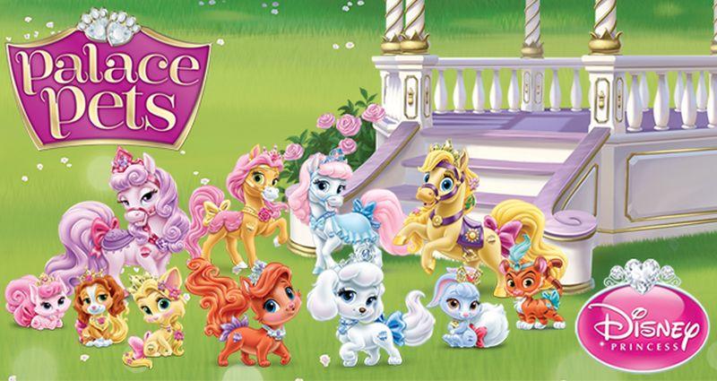 Играть в игру palace pets playdate!